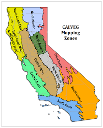 california map project region 5 resource management