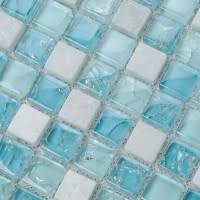 pink glass stone tile mosaic square 3 5