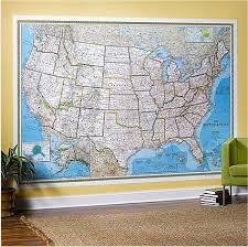 map of us states political political us map large size usa and us states wall maps