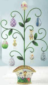 jim shore easter eggs jim shore 4009306 easter egg tree from the collector s addition