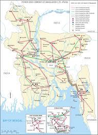 National Map Map Of Bangladesh Electricity Grid Bangladesh National Energy