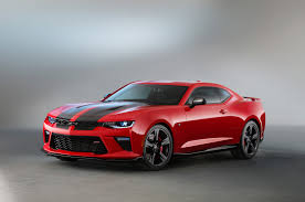 camaro modified 2016 chevrolet camaro ss gets black red accent packages