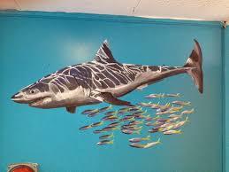 philip ashley art june 2014 school wall art sea life art paintings school mural scubadiving