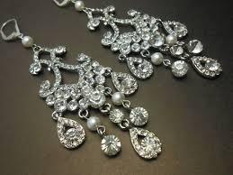 rhinestone chandelier earrings 21 best wedding jewelry images on wedding jewelry