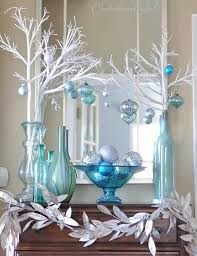 White Christmas Table Decorations Uk by Best 25 Blue Christmas Ideas On Pinterest Blue Christmas Decor