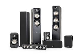 home theater with tower speakers polk audio signature s55 s 55 american hifi home theater tower