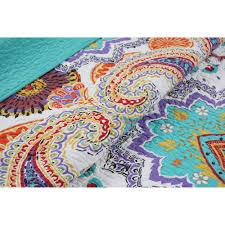 King Quilt Bedding Sets Global Trends Quilt Bedding Set Walmart