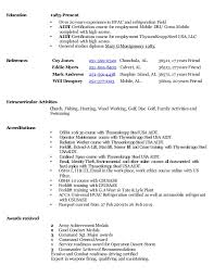 Hvac Experience Resume Example Of A Good Essay For Scholarship Www Resume 9 Ru