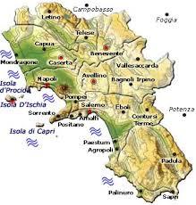 provinces of italy map region of cania italy regions of italy
