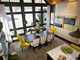 Modern Dining Table 2014 Pick Your Favorite Dining Room Hgtv Dream Home 2018 Behind The