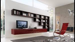 Rocking Chair Living Room Enticing Living Room Wall Units With Glossy Maroon Storage Idea