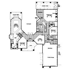 adobe floor plans san marcos adobe home plan 047d 0158 house plans and more
