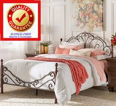 Antique Style Bed Frame Antique Iron Bed Frame Zeppy Io