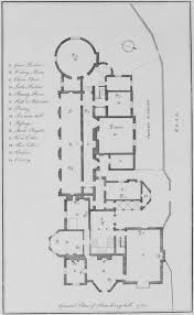 file ground plan of strawberry hill 1781 jpg wikimedia commons