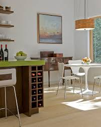 kitchen island modern 5 wine storage ideas for the kitchen contemporist