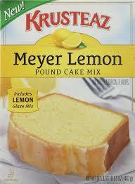 krusteaz meyer lemon pound cake mix 16 5oz box
