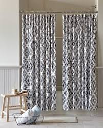 Double Swag Shower Curtain With Valance Best 25 Double Shower Curtain Ideas On Pinterest Elegant Shower
