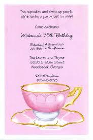 stevie streck invitations pink tea invitation by stevie streck designs