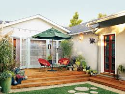 creating an outdoor patio patio facelift sunset