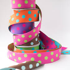 polka dot ribbon reversible woven polka dots ribbon and bows oh my