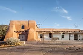 pueblo style architecture pueblo culture stock photos offset