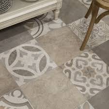 Floor And More Decor by Somertile 13 125x13 125 Inch Asturias D Cor Jet Mix Ceramic Floor