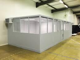 bureau d atelier ateliers de vignacourt cabine atelier palettisable cloison