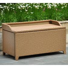 wicker patio storage patio storage