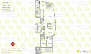 Plan 888 15 by The Estates At Acqualina Floor Plans