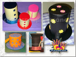 como hacer un sombrero de carton como hacer un sombrero de copa con cartulinas trato o truco