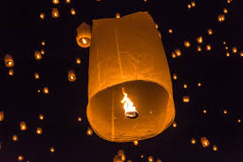 Festival Of Lights Thailand Full Moon Of Lights Yee Peng And Loy Krathong In Chiang Mai
