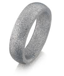 rings silver bands images Miband silicone ring silver sparkle handmade silicone rings made jpg