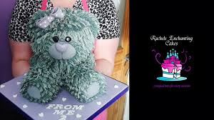 how to make a teddy bear cake tutorial part 2 youtube