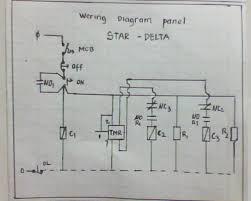 instalasi panel listrik star delta