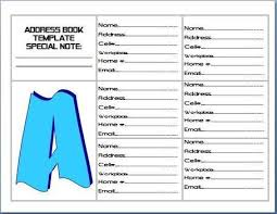 Microsoft Excel Address Book Template Personal In Collection Of Microsoft Word Excel Templates Scoop It