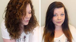 perms for fine hair before and after spiral perm fine short hair hairstyle picture magz