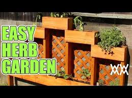how to build an herb garden easy diy herb garden you can make this planter in an afternoon