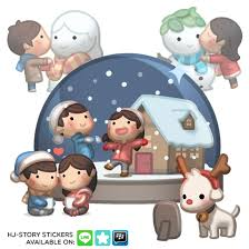 christmas stickers christmas stickers by hjstory on deviantart
