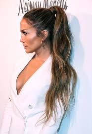 j lo ponytail hairstyles rapunzel lengths the super long hairdos a listers are loving