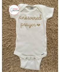 christian baby shower answered prayer baby onesie christian baby onesie coming