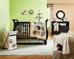 Carters Baby Bedding Sets S Forest Friends 4 Crib Bedding Set
