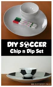 soccer chip and dip set jellyfish prints