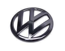 volkswagen wolfsburg emblem emblem vwg5 r black vw emblem rear mk5 gti rabbit