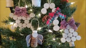 wine cork ornaments diy fast tutorial youtube