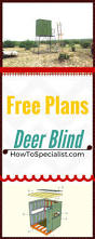 how to build a deer blind easy to follow instructions guides