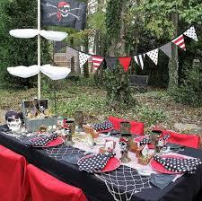 decoration de bateau plus de 30 idées pour une fête sous le thème des pirates