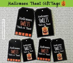 halloween gift tags it u0027s written on the wall halloween treat tags for you u0027ve been