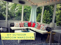 diy sunroom diy sunroom makeover knock it episode east coast creative