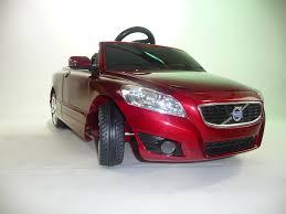 kid car volvo c70 ride on for kids by kalee minivolvo lu