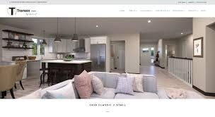 thomsen homes web design wordpress fargo nd stacey